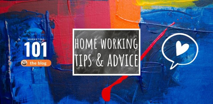 home working and home office tips and advice - marketing 101 - marketing consultant